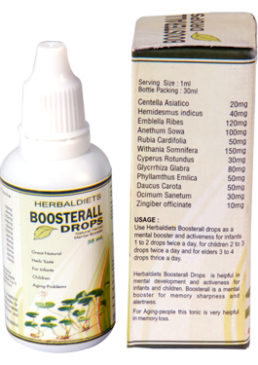 Boosterall Drops For Brain